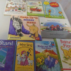 Lot of 9 children books Great Books